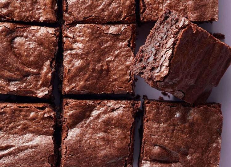 quadratini di brownie