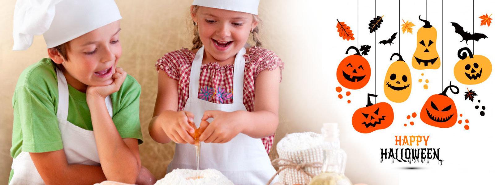 Halloween corso di cucina a tema per bambini - Tema sulla cucina ...