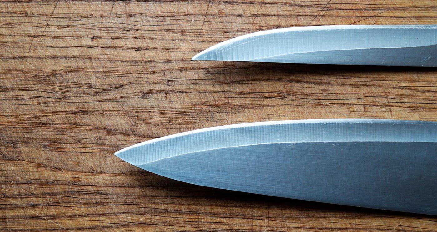 I coltelli da cucina professionali indispensabili per uno chef | Red ...